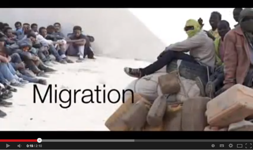 Routes of illegal migration into European Union (BBC News)